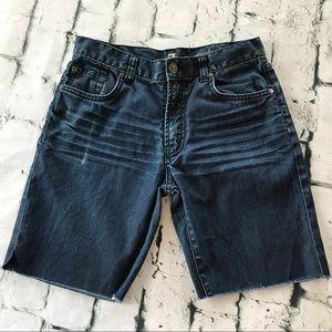 7 For All Man Kind Boys Denim Shorts Size 14